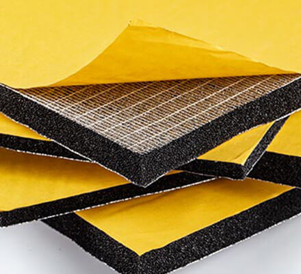 Acoustic and Heat Insulating Material