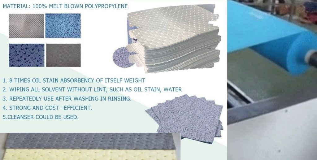 PP Chemical Spill absorbent