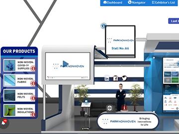PARK Nonwoven participated in Virtual Global Non-Woven Tech Expo 2021 [Park II] | January 2021